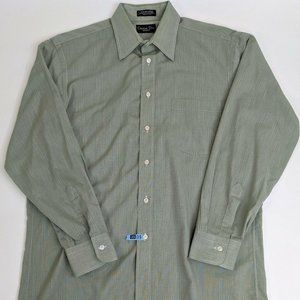 Christian Dior Monsieur Mens LS Button Front Olive